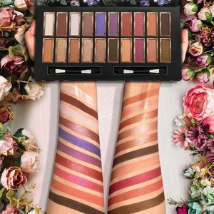 Mattes & Shimmers Eyeshadow Palette Glitter Makeup